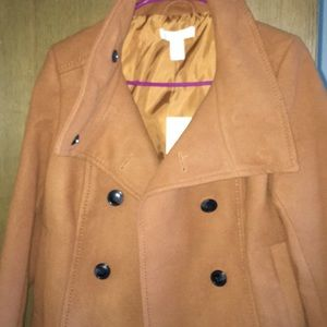 H&M brown coat